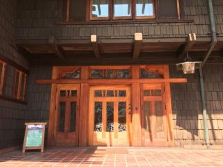 The Gamble House- Arts and Crafts Door