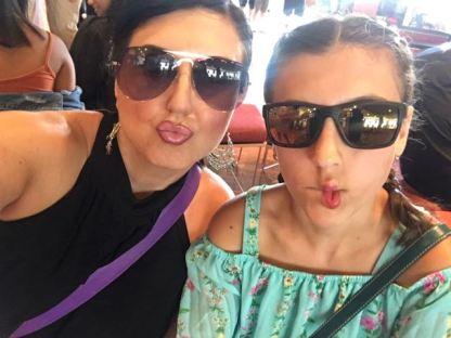 She loves selfies ...i am doomed. Just like her mom.