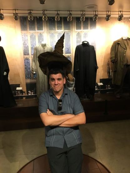 Of course...SLYTHERIN!...I got Hufflepuff but we all know I am a RavenClaw. (My picture was too blurry)