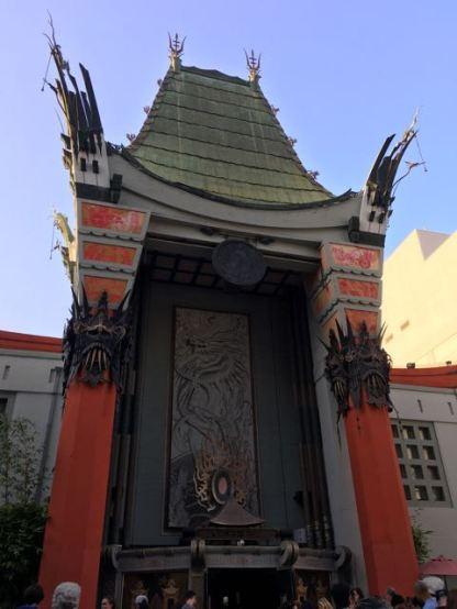 """The Graumann's Chinese Theatre"""
