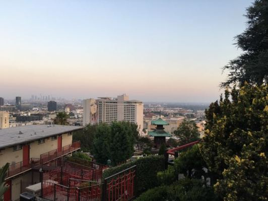 View at the top where Yamashiro is