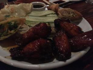 honey chicken wings