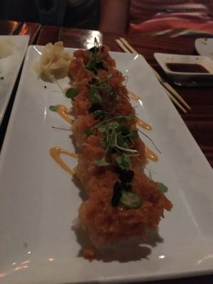 Fried maki roll- crab