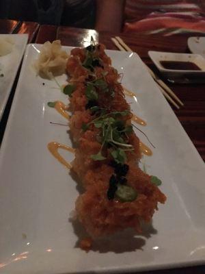 Fried maki roll- crab