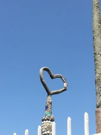 Watts Tower Heart