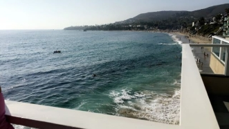 Pacific Edge Hotel- Laguna- view from room