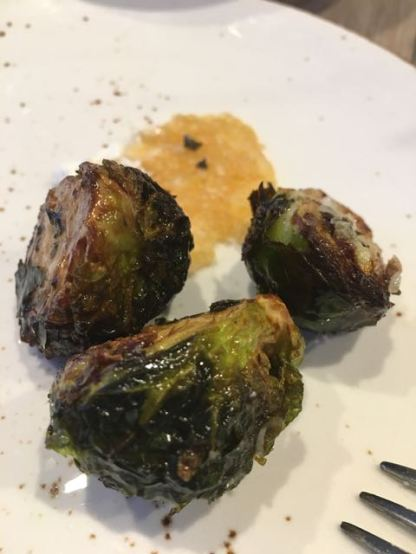 Roasted Brussells Sprouts starter