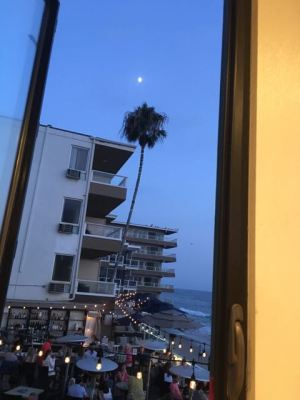 Our view from behind, the ocean was our main view.