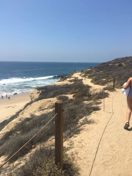 Crystal Cove State Park- walk from parking lot above