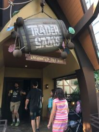 Trader Sam's entrance at Disneyland Resort