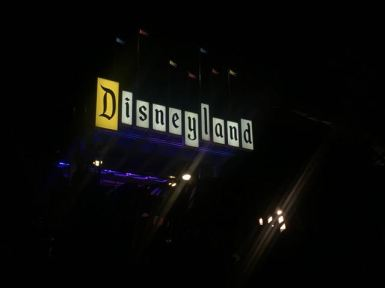 THE ENTRANCE SIGN!