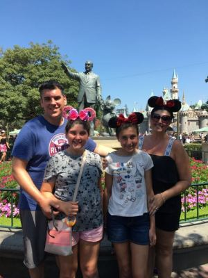 Disneyland Family Shot