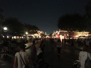 Leaving Disneyland :(