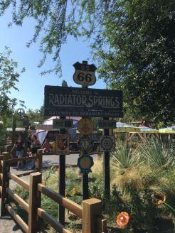 Radiator Springs Signage
