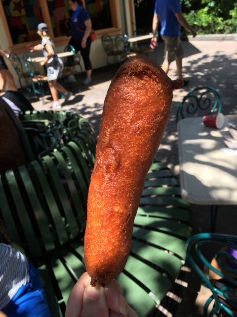 Corn Dog- Disney California Adventure