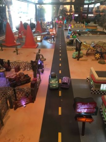 Carsland toy model