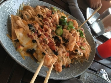 Lamplight Lounge- Lobster Nachos