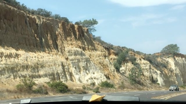 Cliffs everywhere...