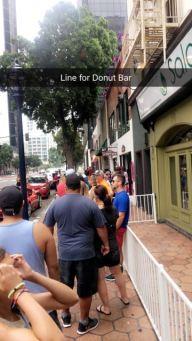 Donut Bar line
