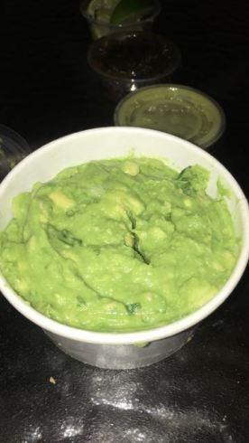 The guacamole here is sensationally good