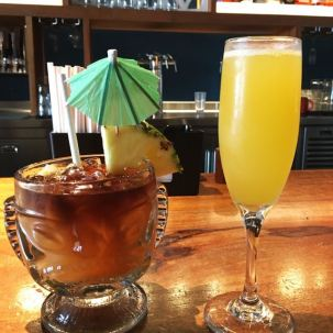 Duke's La Jolla- Mai Tai and Mimosa