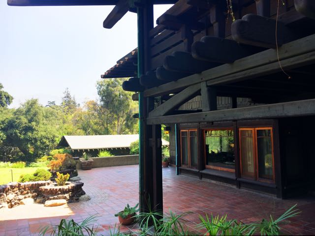 The Gamble House- Arts and Crafts
