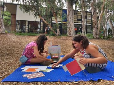Playing with the large House of Cards- Eames House
