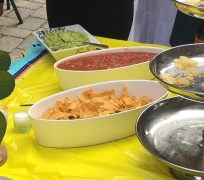 Chips and salsa and guac
