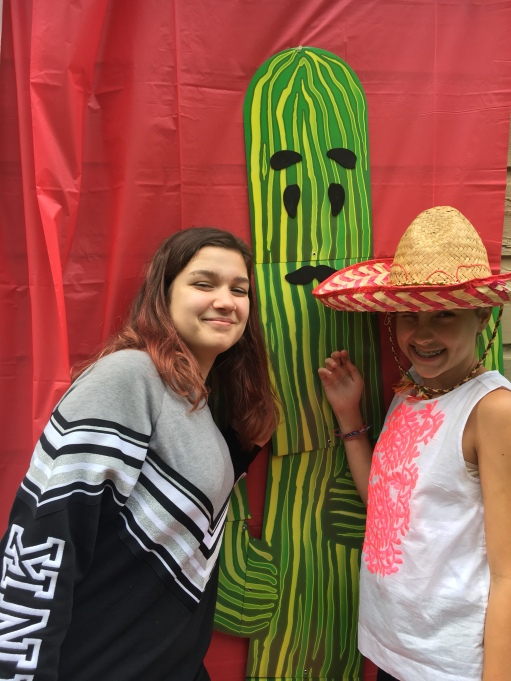 They put a mustache face on the cactus, and it was actually pretty cute