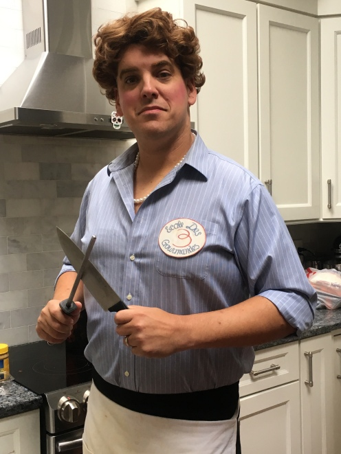 Julia Child in the house