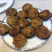 Sausage stuffing stuffed mushrooms