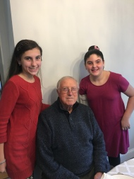 My dad wth two of his grandkids is almost 80! One more year!