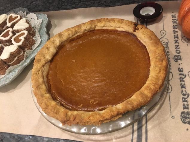 and Pumpkin pie