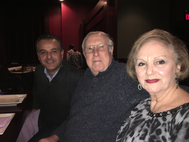 My brother in law (Italian) and parents