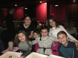 ALL THE GRANDKIDS!! Together for the first time, because before this our nephew wasn't here yet!