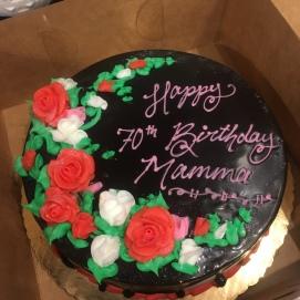 My Mom's cake!