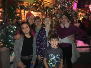 Cousins at Jordan's Enchanted Village