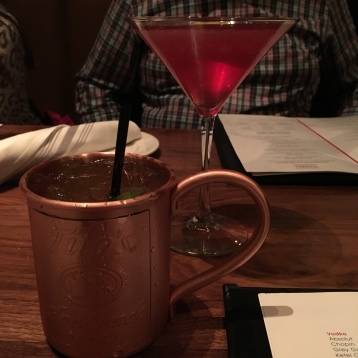 I really love mules...gingery stuff, yes.