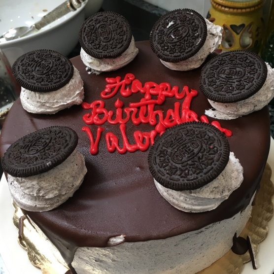 Oreo cake..