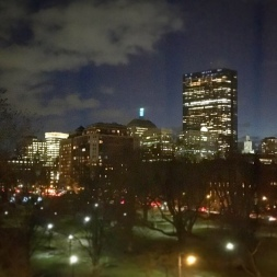 Boston Skyline from Back Bay