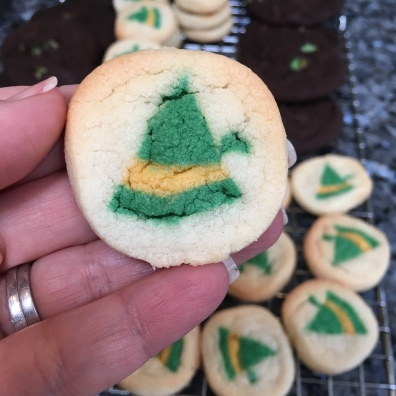 Of course, buddy the elf cookies made it