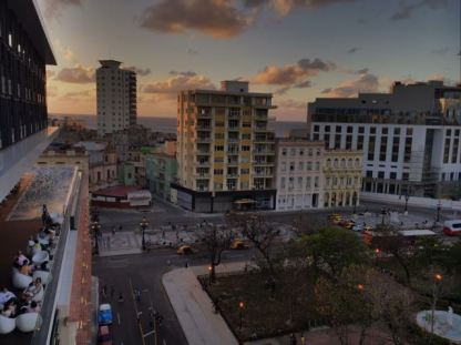 Vistalmorro- View from balcony- Habana Vieja