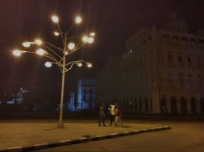 Light art work- cuba