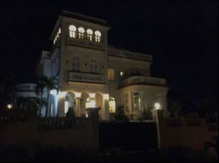 The villa across the street