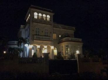 The villa across the street