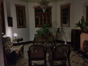 Our casa particular at night