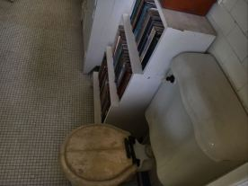 Hemingway House- Cuba- vintage toilet by the window
