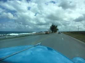 Driving the coast of Cuba to Varadero