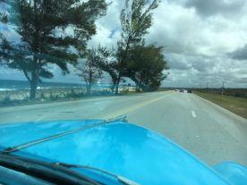 Driving the coast of Cuba to Varadero