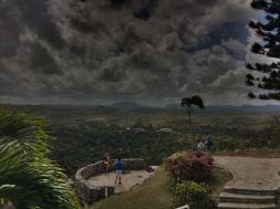 look out of bacunayagua bridge